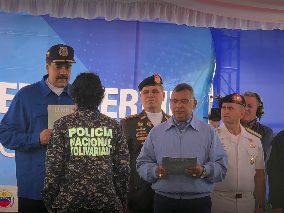 Presidente Nicolás Maduro en acto de graduación de 3.610 profesionales de la UNES
