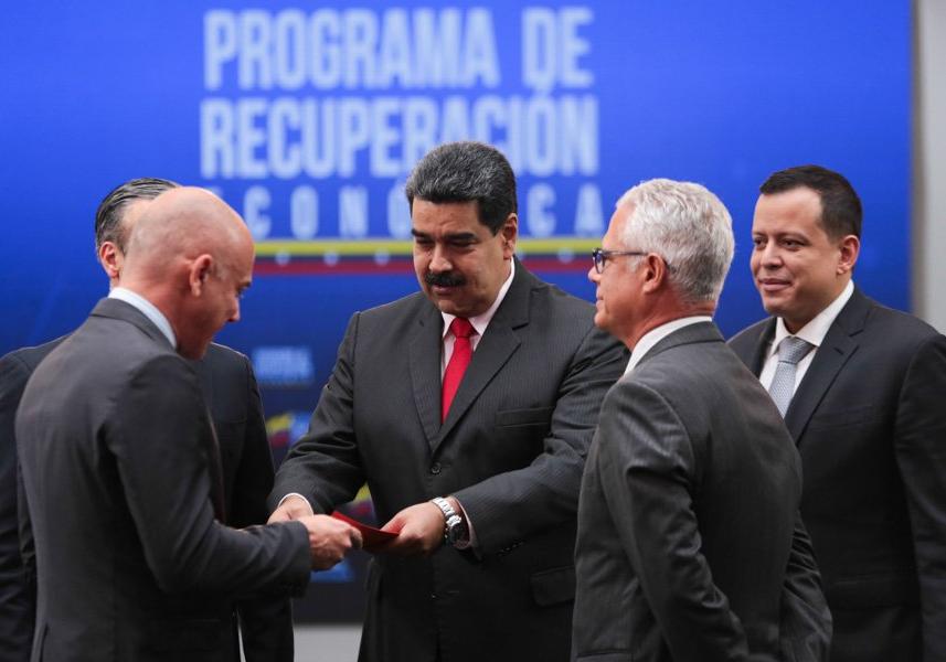 Presidente Maduro promueve la productividad del país